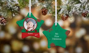 personalized ornament personalization mall groupon