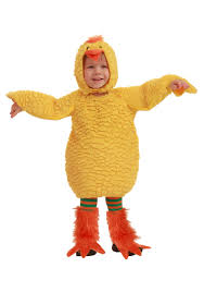 Baby Halloween Costume Adults Fluff Baby Duck Costume