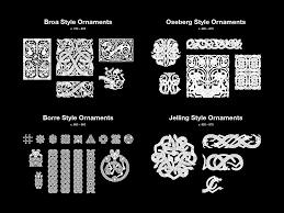 viking ornaments jonas lau markussen