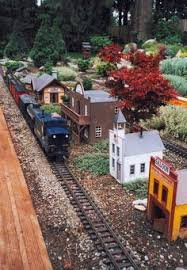 sugg model train garden g scale garden railroad layout and trains