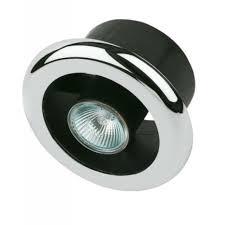 Chrome Bathroom Fan Light Manrose Shower Light Extractor Fan Kit Chrome 100mm Screwfix Eu