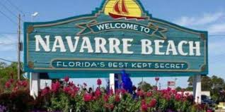 spirit halloween sign navarre residents want old signs returned to navarre beach entrance