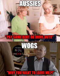 Wog Memes - wogs vs aussies funny pinterest memes funny memes and funny