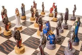 chess board buy buy king arthur resin chess set at chessafrica co za for only r