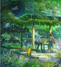 Garden Of Ideas The Garden Of Words Anime Tv Tropes
