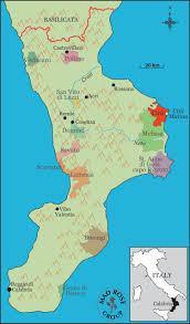 Map Of Calabria Italy by Du Cropio U2013 Rosenthal Wine Merchant