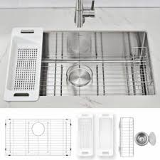 what size undermount sink for 33 inch base cabinet the best kitchen sink options for your renovation in 2021