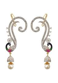 ear cuffs india ear cuffs online ear cuffs shopping india voonik