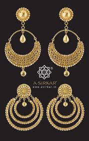 bengali gold earrings earrings awesome gold earrings indian jewelry striking
