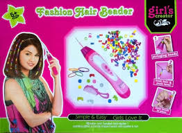 hair beader 2 in 1 fashion jewelry hair beeder kit creator hair style