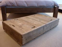 Under Bed Storage Ideas Diy Under Bed Storage Containers With Unfinished Beech Wood