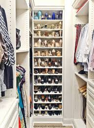 9 do u0027s and don u0027ts organized shoe storage in a columbus custom closet