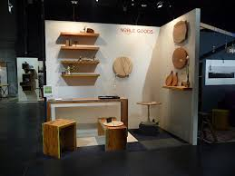 design booth seating resin noble goods