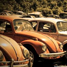 orange volkswagen beetle old volkswagen beetle junkyard 4k hd desktop wallpaper for 4k