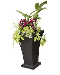 Tierra Verde Planter by Black Urn Planters Home Design Styles