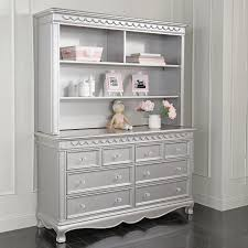 Toys R Us Baby Dressers by Baby Cache Adelina Hutch Metallic Gray Toys