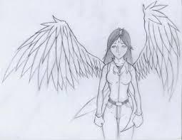 pencil drawing sad angel images angels drawings angel pencil