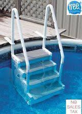 above ground swimming pool steps wedding cake style ebay