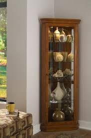 corner curio cabinets for sale found it at clockway com pulaski sundance corner curio cabinet in