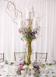 Curly Willow Centerpieces Jennifer Anderson Events Woodland Wedding Partyslate