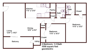 1000 sq ft floor plans floor plans pricing