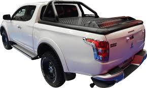 mitsubishi l200 single cab evo650b upstone black aluminum tonneau cover mitsubishi l200