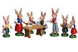 german easter decorations wooden german easter bunnies german easter deutsche ostern