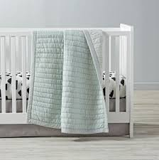 cotton candy crib bedding mint the land of nod
