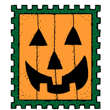 free pumpkin svg postage stamp clip art free vector in open office drawing svg