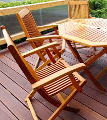 Patio Table Wood Why Choose Wood Patio Furniture