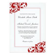 and white invitations announcements zazzle