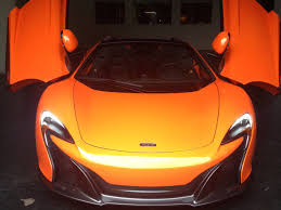 orange ferrari the mclaren 650s is taking aim at the ferrari 488 and the