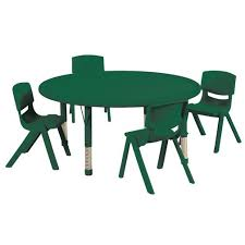 daycare table and chairs preschool table and chair set preschool table and chair set