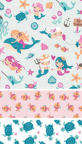mad about mermaids at jo ann stores u2014 inga wilmink illustration