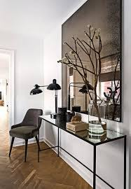 Hallway Console Table And Mirror Contemporary Foyer Mirrors Trgn 8d3b19bf2521