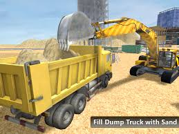 dump truck heavy excavator dump truck 3d android apps on google play