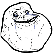 Meme Forever Alone - image sad forever alone face only l png the hunger games wiki