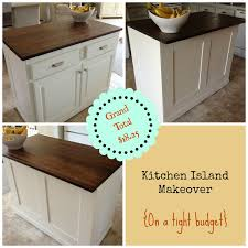 kitchen island makeover the serene kitchen island makeover