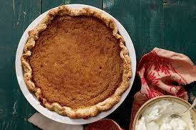 pumpkin pie with hazelnut crust recipe