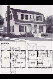 one colonial house plans 85 best house images on vintage house plans