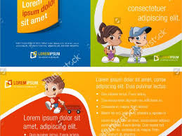 play school brochure templates nursery brochure templates free fieldstation co