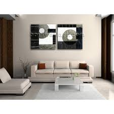 Wall Art Sets For Living Room Large Canvas Wall Art Set Picture Print Modern Abstract Painting
