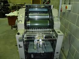 single colour used offset printing machines ryobi 3200 cd