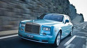 roll royce road rolls royce 102ex phantom experimental electric in first road test