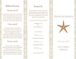 Wedding Itinerary Wedding Agenda Template Beach Wedding Itinerary Template Wedding