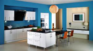 light blue paint colors for kitchen