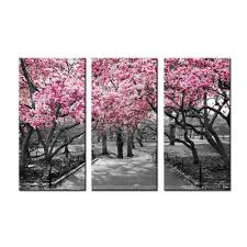 painting on the wall cherry blossom tree canvas wal art painting