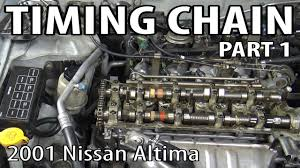 nissan sentra timing chain 2001 nissan altima timing chain and oil pump replacement part 1