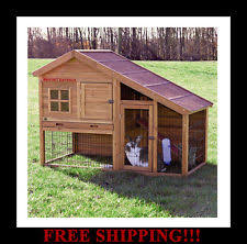 rabbit hutch small animal supplies ebay