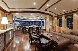 Boat Interior Refurbishment This Jaw Droppingly Luxurious Yacht Rents For 1 65 Million A Week